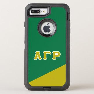 Alpha Gamma Rho | Greek Letters OtterBox Defender iPhone 8 Plus/7 Plus Case