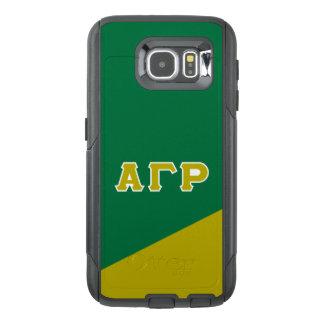 Alpha Gamma Rho | Greek Letters OtterBox Samsung Galaxy S6 Case