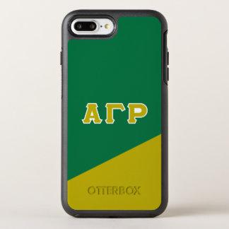 Alpha Gamma Rho | Greek Letters OtterBox Symmetry iPhone 8 Plus/7 Plus Case