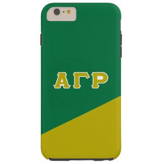 Alpha Gamma Rho | Greek Letters Tough iPhone 6 Plus Case