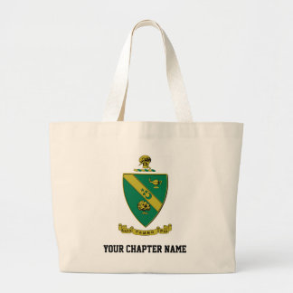 Alpha Gamma Rho Official Coat of Arms Jumbo Tote Bag