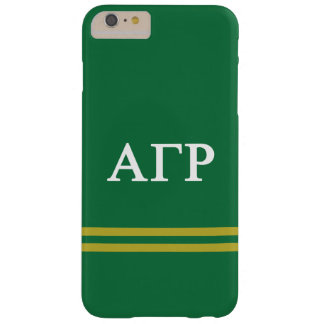 Alpha Gamma Rho | Sport Stripe Barely There iPhone 6 Plus Case