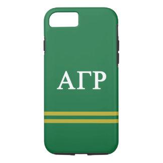 Alpha Gamma Rho | Sport Stripe iPhone 8/7 Case