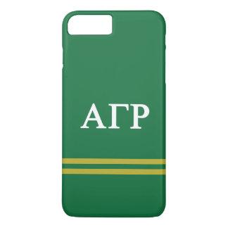 Alpha Gamma Rho | Sport Stripe iPhone 8 Plus/7 Plus Case