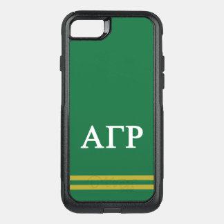 Alpha Gamma Rho | Sport Stripe OtterBox Commuter iPhone 8/7 Case