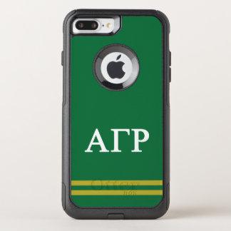 Alpha Gamma Rho | Sport Stripe OtterBox Commuter iPhone 8 Plus/7 Plus Case