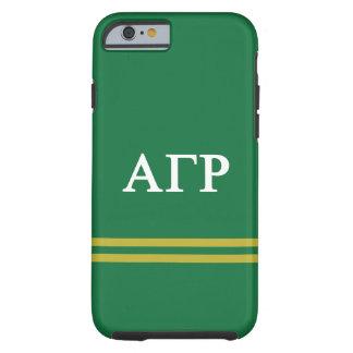 Alpha Gamma Rho | Sport Stripe Tough iPhone 6 Case