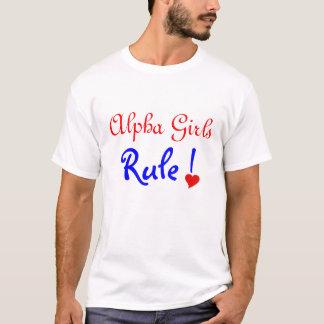 Alpha Girls Rule T-Shirt