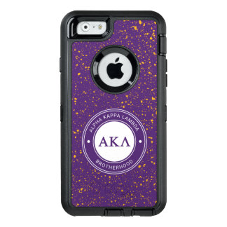 Alpha Kappa Lambda | Badge OtterBox Defender iPhone Case