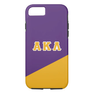 Alpha Kappa Lambda | Greek Letters iPhone 8/7 Case