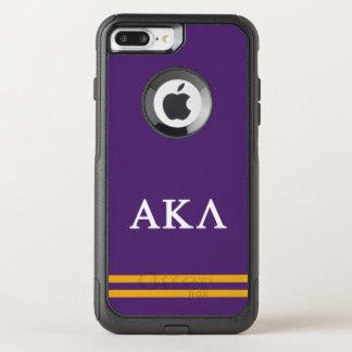Alpha Kappa Lambda | Sport Stripe OtterBox Commuter iPhone 8 Plus/7 Plus Case