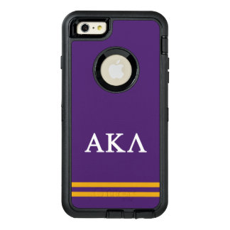 Alpha Kappa Lambda | Sport Stripe OtterBox Defender iPhone Case