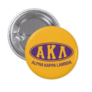 Alpha Kappa Lambda   Vintage 1 Inch Round Button