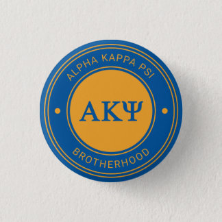 Alpha Kappa Psi | Badge 1 Inch Round Button