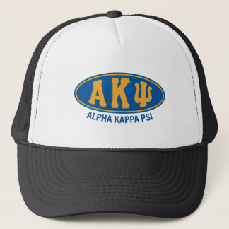 Alpha Kappa Psi   Vintage Trucker Hat
