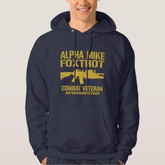 Alpha Mike Foxtrot - Afghanistan Veteran Hoodie