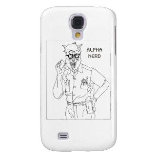 alpha nerd galaxy s4 case
