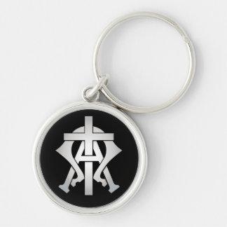 Alpha & Omega Keychain