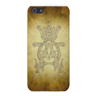 Alpha Omega King of Kings Design Case For iPhone 5/5S