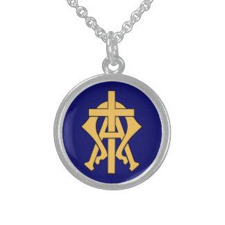 Alpha & Omega Sterling Silver Necklace