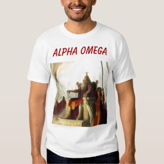 ALPHA OMEGA TEE SHIRT