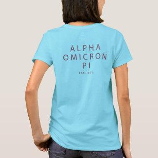 Alpha Omicron Pi Lil Script T-Shirt