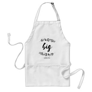 Alpha Phi | Big Wreath Standard Apron