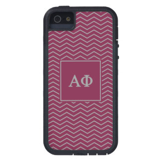 Alpha Phi | Chevron Pattern iPhone 5 Cover