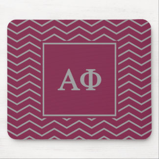 Alpha Phi | Chevron Pattern Mouse Pad