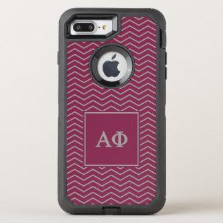 Alpha Phi | Chevron Pattern OtterBox Defender iPhone 7 Plus Case