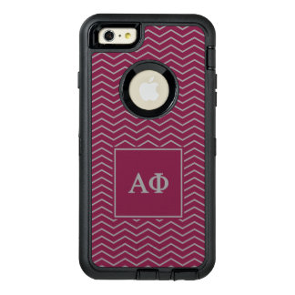 Alpha Phi | Chevron Pattern OtterBox Defender iPhone Case