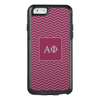 Alpha Phi | Chevron Pattern OtterBox iPhone 6/6s Case