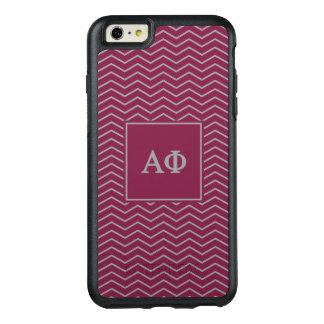 Alpha Phi | Chevron Pattern OtterBox iPhone 6/6s Plus Case