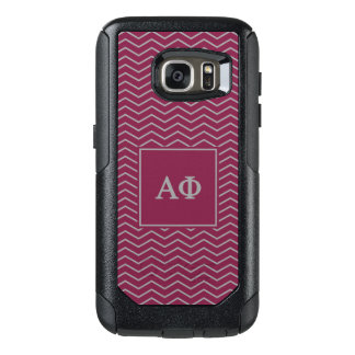 Alpha Phi | Chevron Pattern OtterBox Samsung Galaxy S7 Case