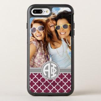 Alpha Phi | Monogram and Photo OtterBox Symmetry iPhone 8 Plus/7 Plus Case