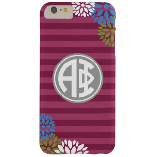 Alpha Phi | Monogram Stripe Pattern Barely There iPhone 6 Plus Case