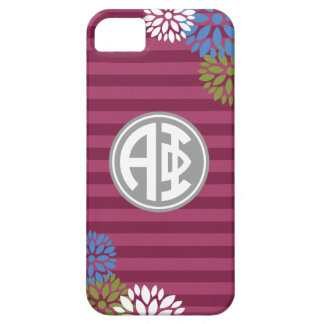 Alpha Phi | Monogram Stripe Pattern Case For The iPhone 5
