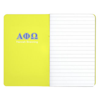 Alpha Phi Omega Blue Letters Journal