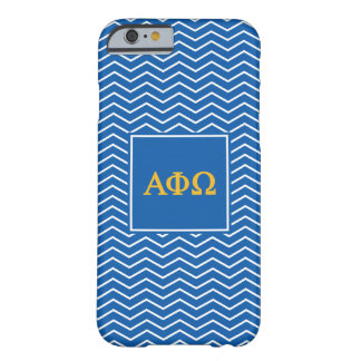 Alpha Phi Omega | Chevron Pattern Barely There iPhone 6 Case