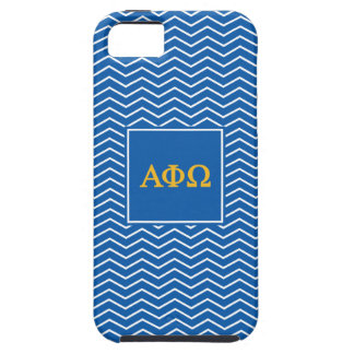 Alpha Phi Omega | Chevron Pattern iPhone 5 Case