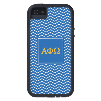 Alpha Phi Omega | Chevron Pattern iPhone 5 Cases