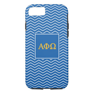 Alpha Phi Omega | Chevron Pattern iPhone 7 Case