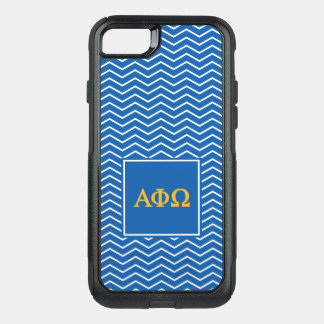 Alpha Phi Omega | Chevron Pattern OtterBox Commuter iPhone 7 Case