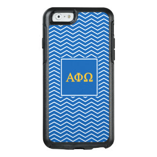 Alpha Phi Omega | Chevron Pattern OtterBox iPhone 6/6s Case