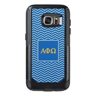 Alpha Phi Omega | Chevron Pattern OtterBox Samsung Galaxy S7 Case