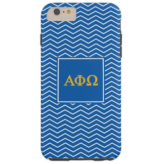 Alpha Phi Omega | Chevron Pattern Tough iPhone 6 Plus Case