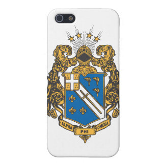 Alpha Phi Omega Color - Crest Case For The iPhone 5