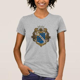Alpha Phi Omega Color - Crest Tees
