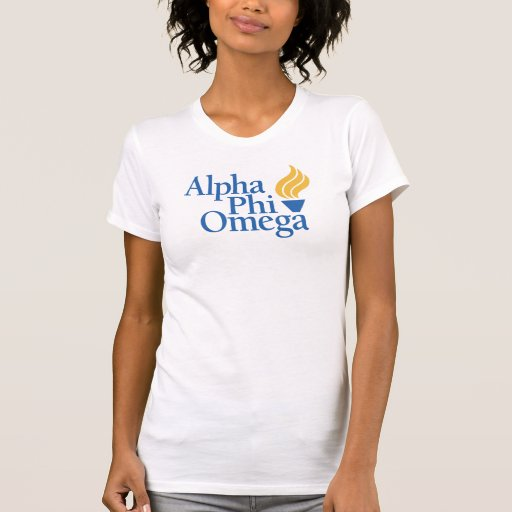 Alpha Phi Omega Color - Torch Tee Shirts