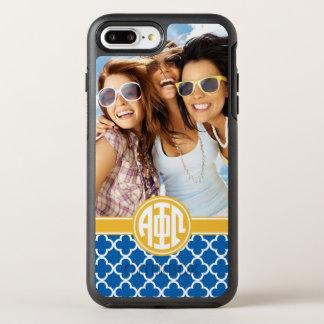 Alpha Phi Omega | Custom Monogram Pattern OtterBox Symmetry iPhone 7 Plus Case